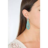 orecchini donna gioielli Luca Barra LBOK588