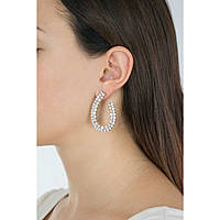 orecchini donna gioielli Luca Barra LBOK615