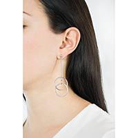 orecchini donna gioielli Morellato Cerchi SAKM15