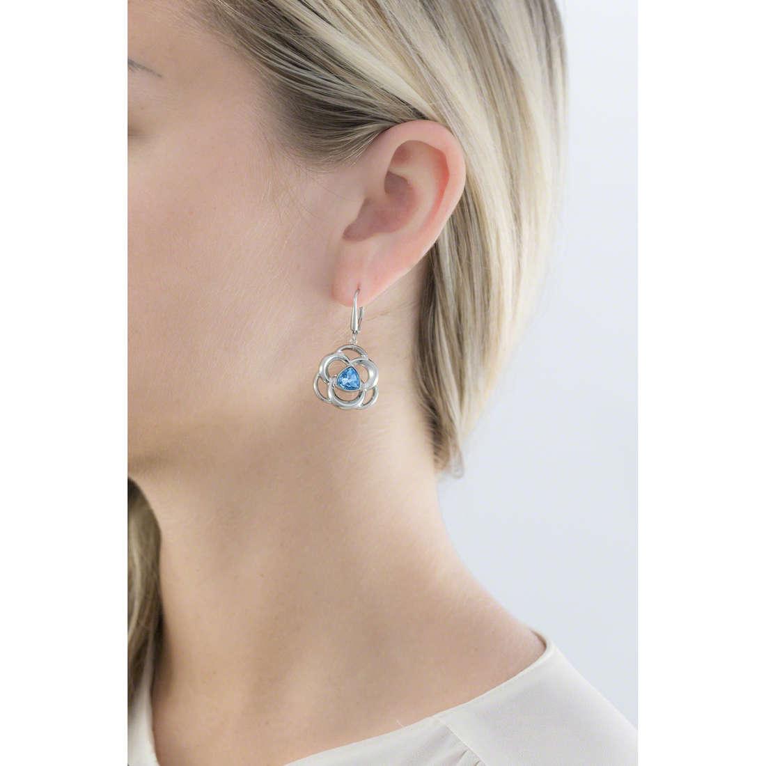 Morellato orecchini Fiordicielo donna SAGY03 indosso