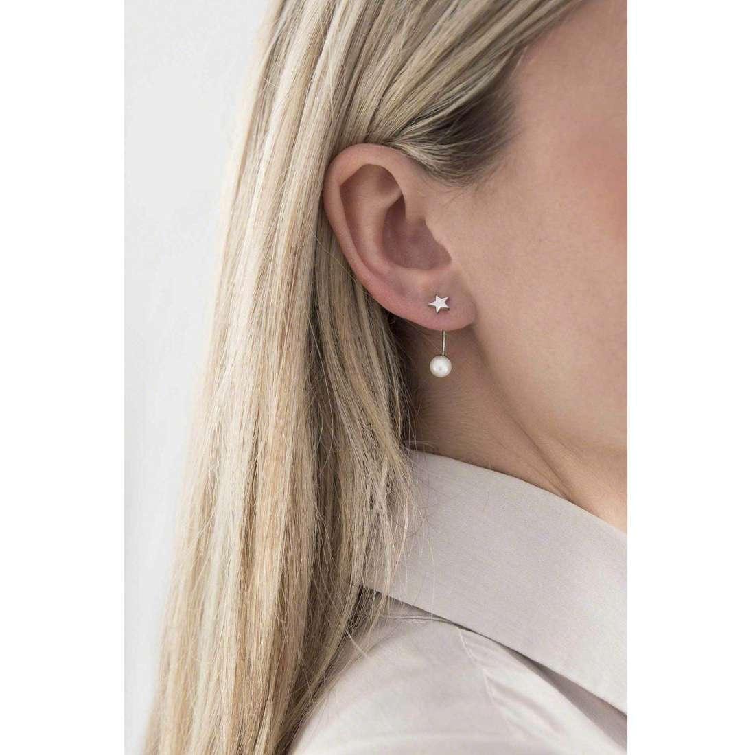 Morellato orecchini Le chicche donna SACQ04 indosso