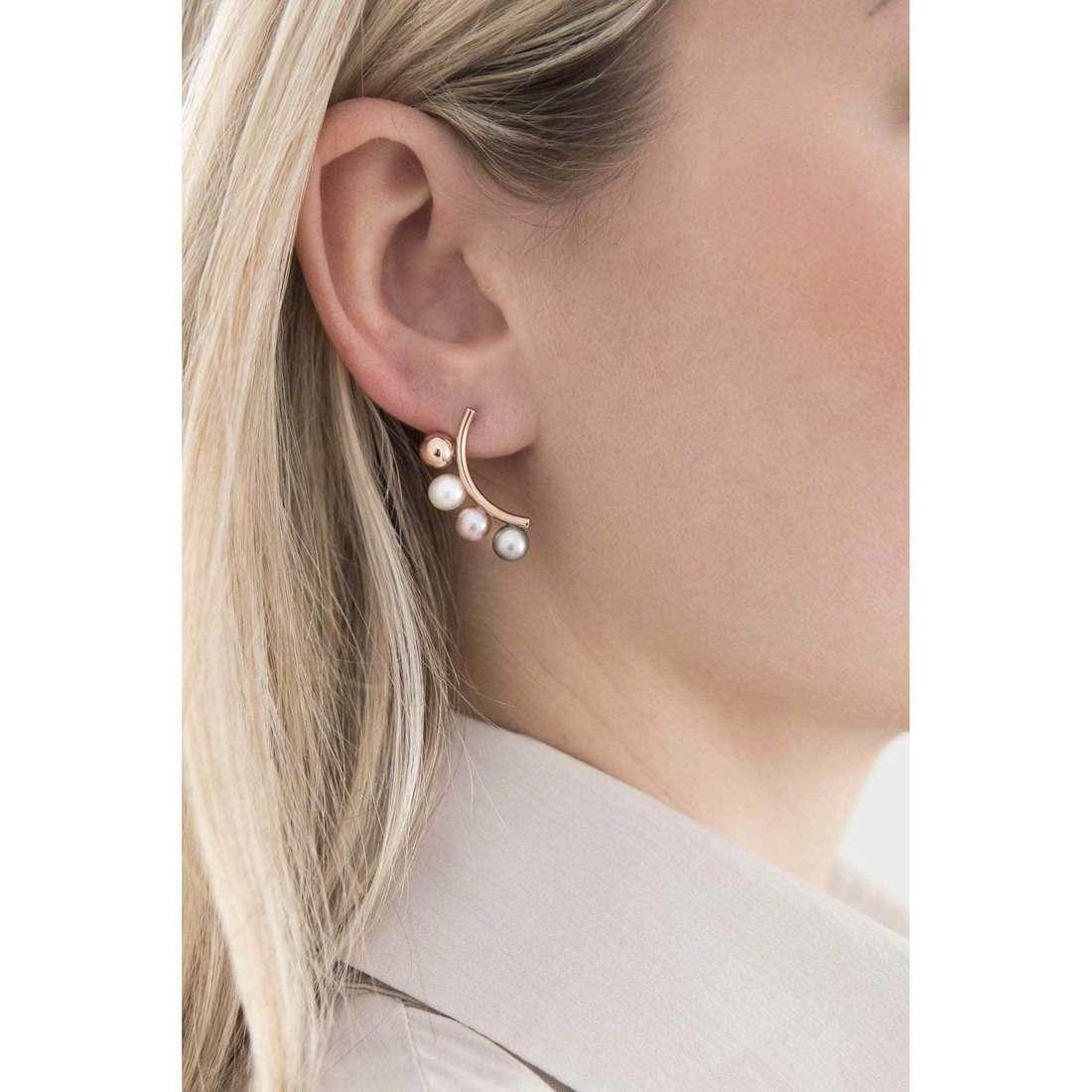 Morellato orecchini Lunae donna SADX03 indosso