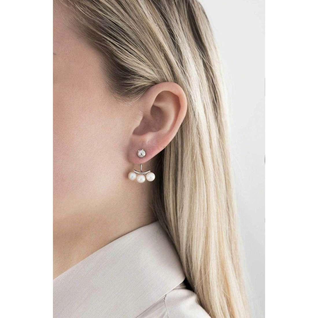Morellato orecchini Lunae donna SADX10 indosso