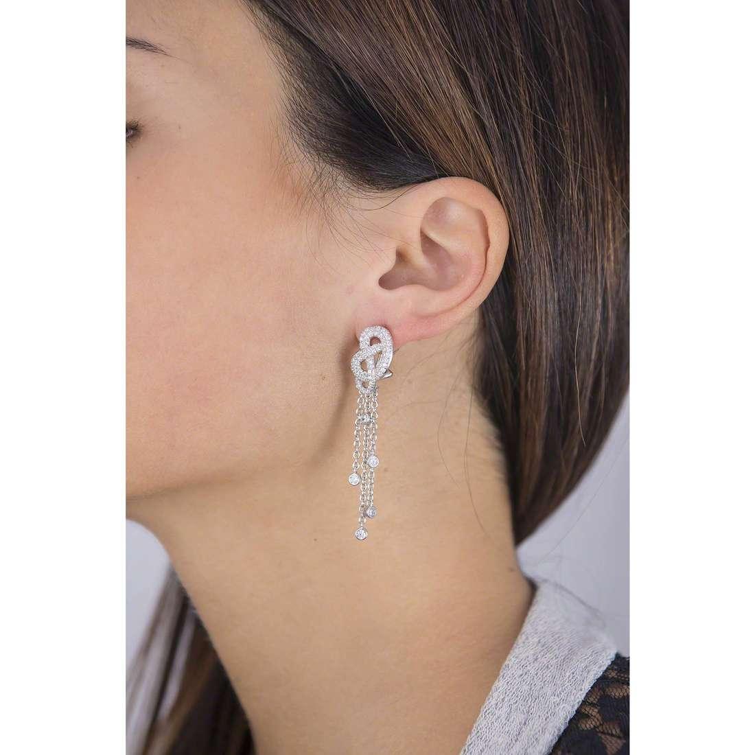 Morellato orecchini Nododamore donna SAHN02 indosso