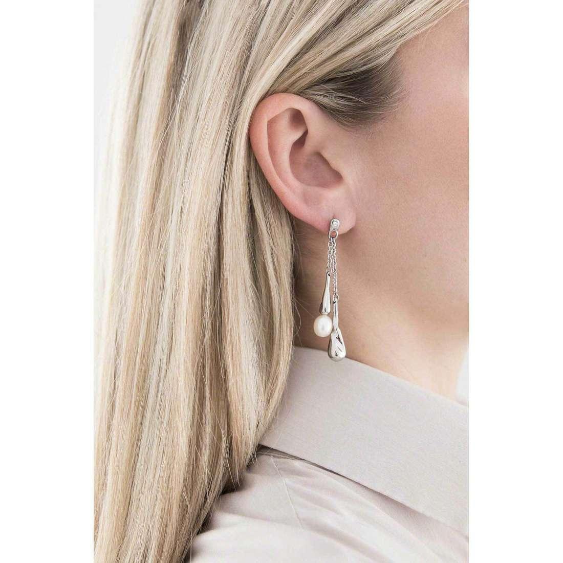 Morellato orecchini Perla donna SXU16 indosso