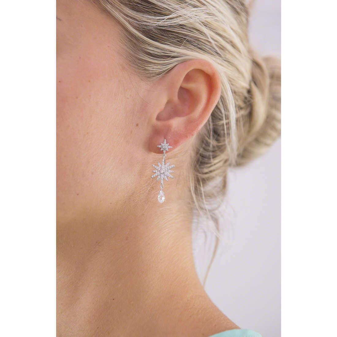 Morellato orecchini Pura donna SAHR03 indosso