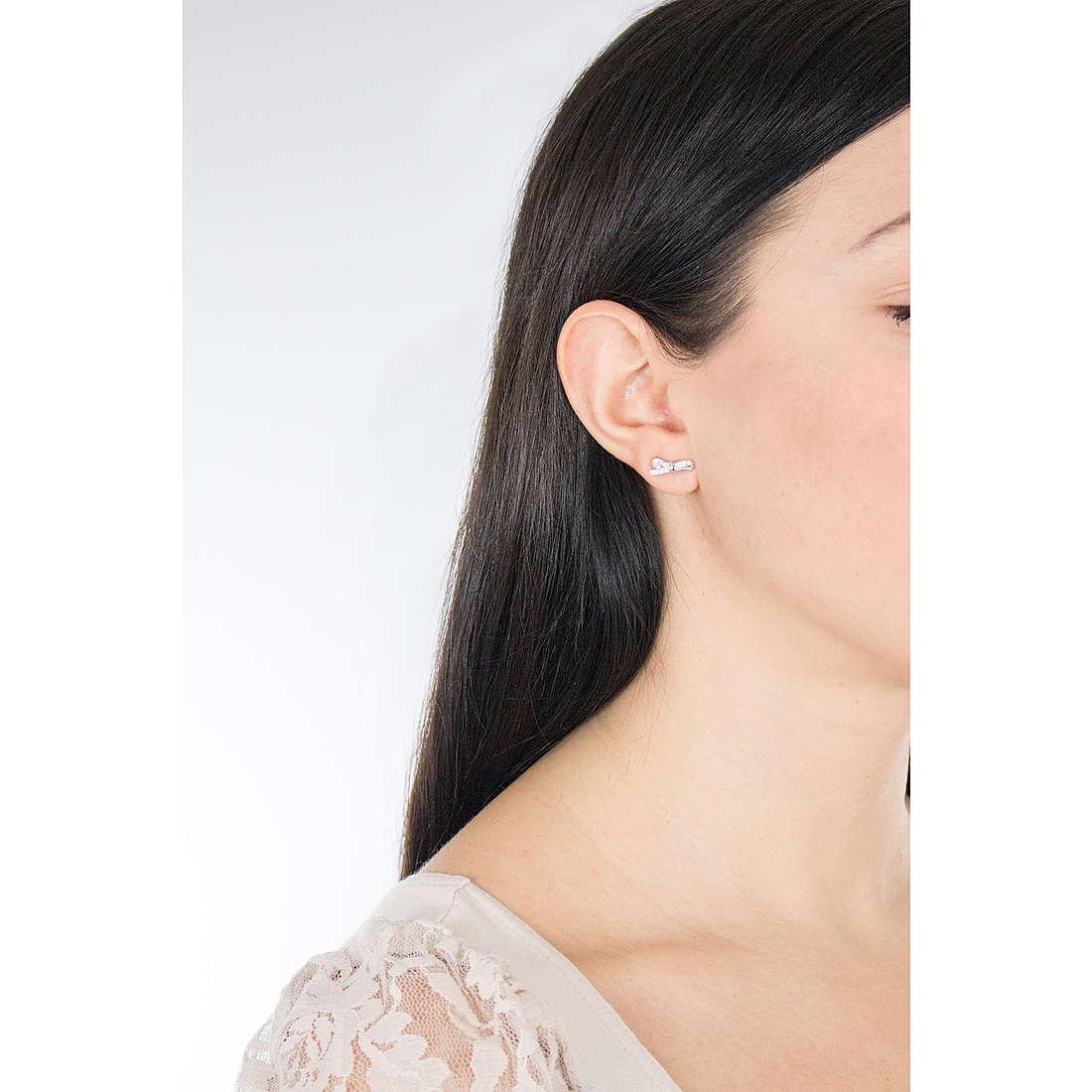 Nomination orecchini Mycherie donna 146307/010 indosso