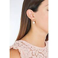 orecchini donna gioielli Rebecca Hollywood Pearl BHOORR02