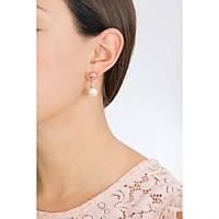orecchini donna gioielli Rebecca Hollywood Pearl BHOORR31