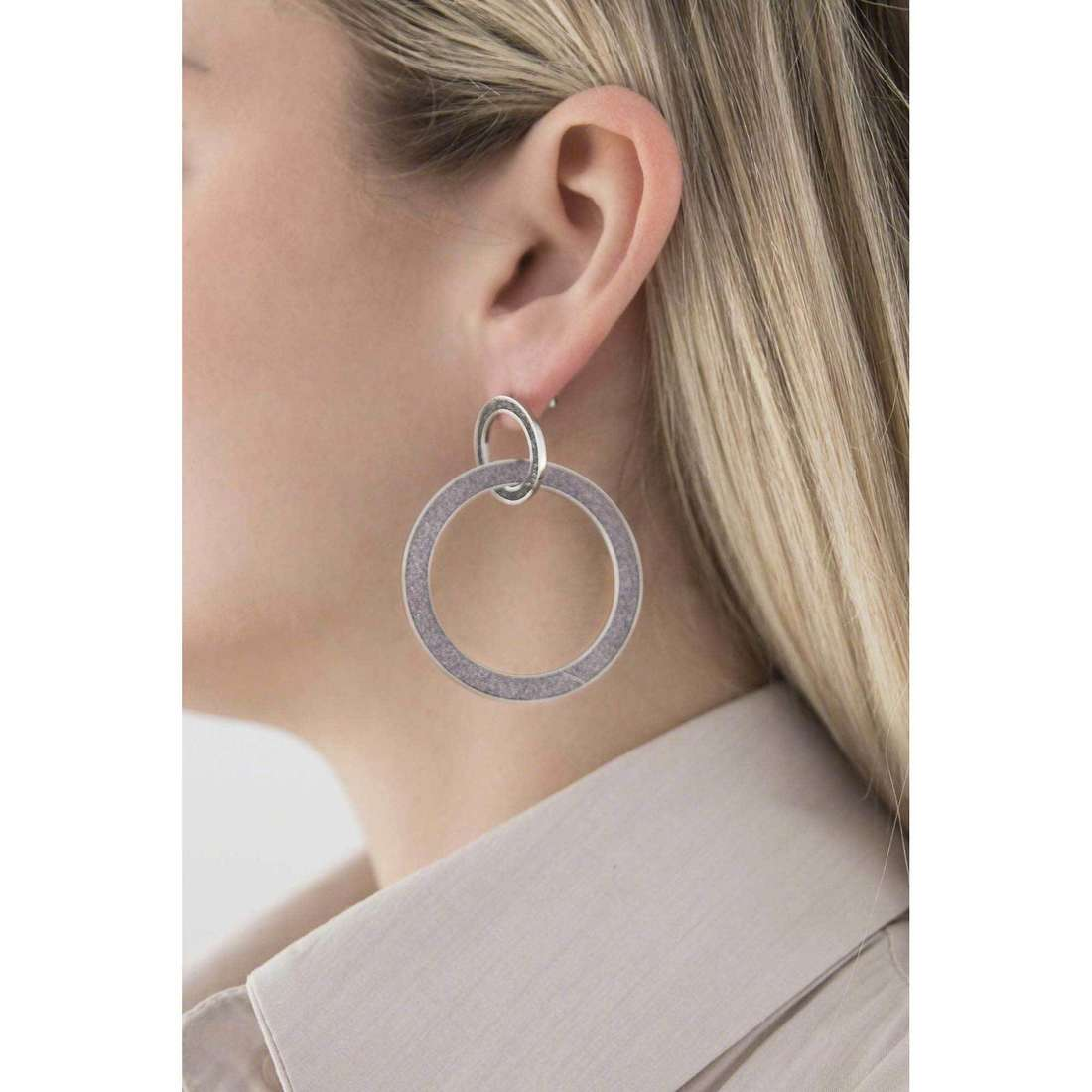 Sagapò orecchini Trinidad donna STR31 indosso