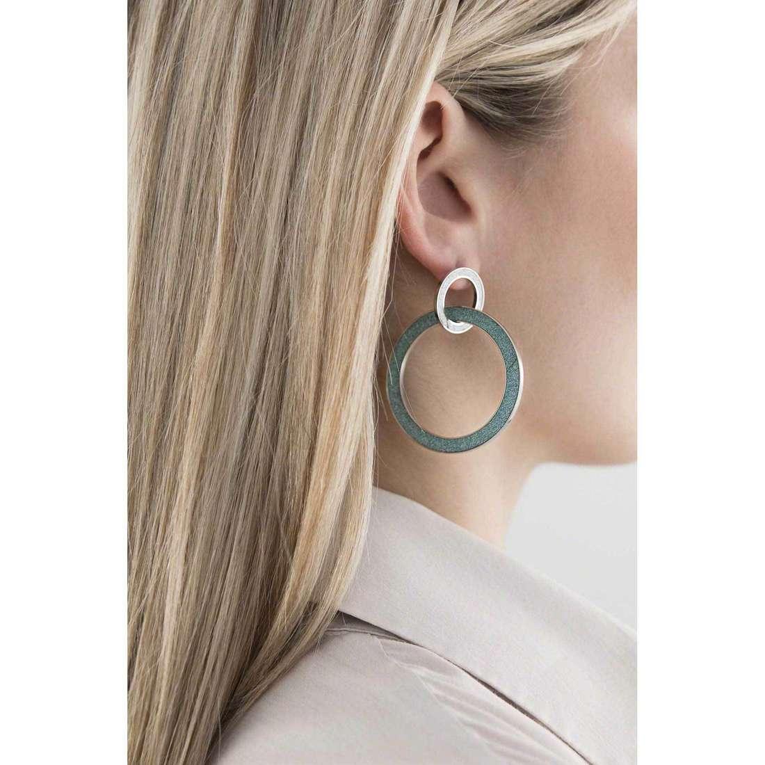 Sagapò orecchini Trinidad donna STR33 indosso