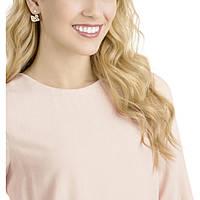 orecchini donna gioielli Swarovski Facet Swan 5358058