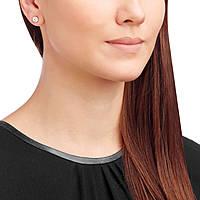 orecchini donna gioielli Swarovski Solitaire 5112156