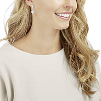 orecchini donna gioielli Swarovski Sparkling Dc 5272366