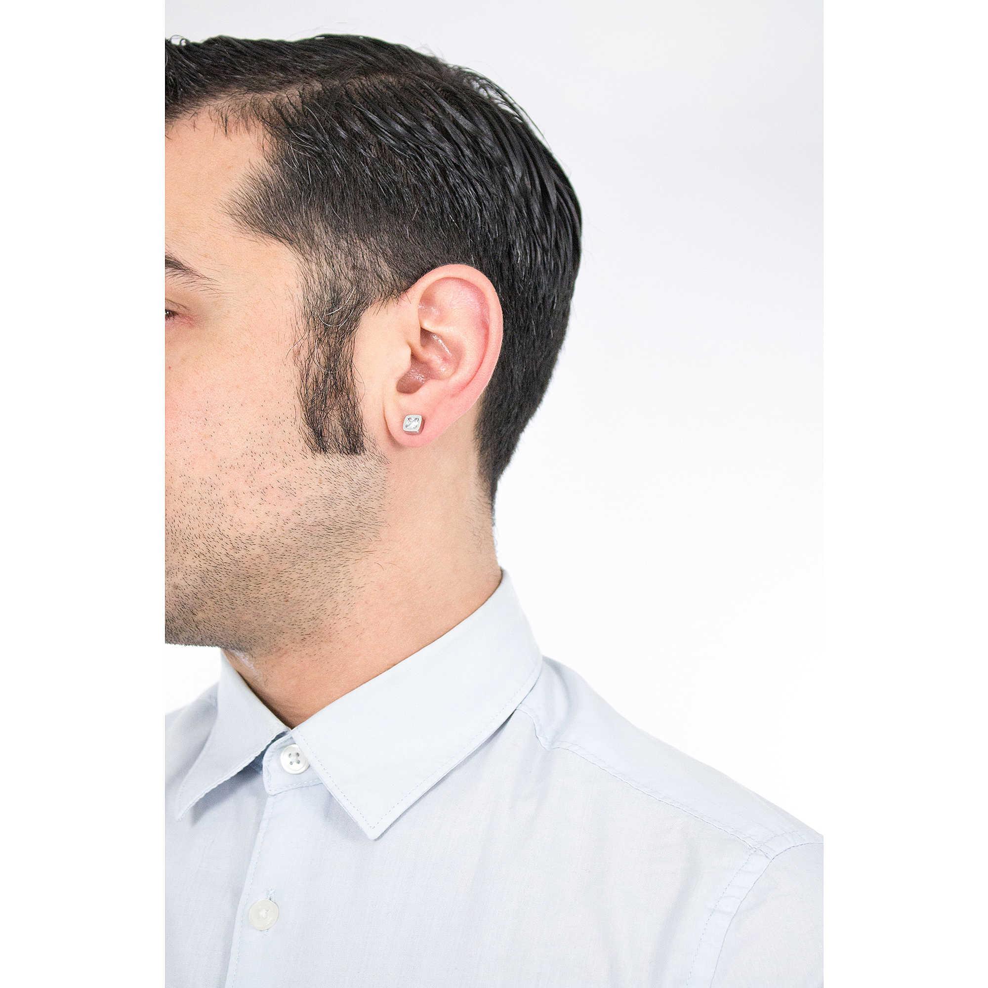 buona consistenza dove acquistare bello economico orecchini uomo gioielli Sector Sharp SACZ01 orecchini Sector