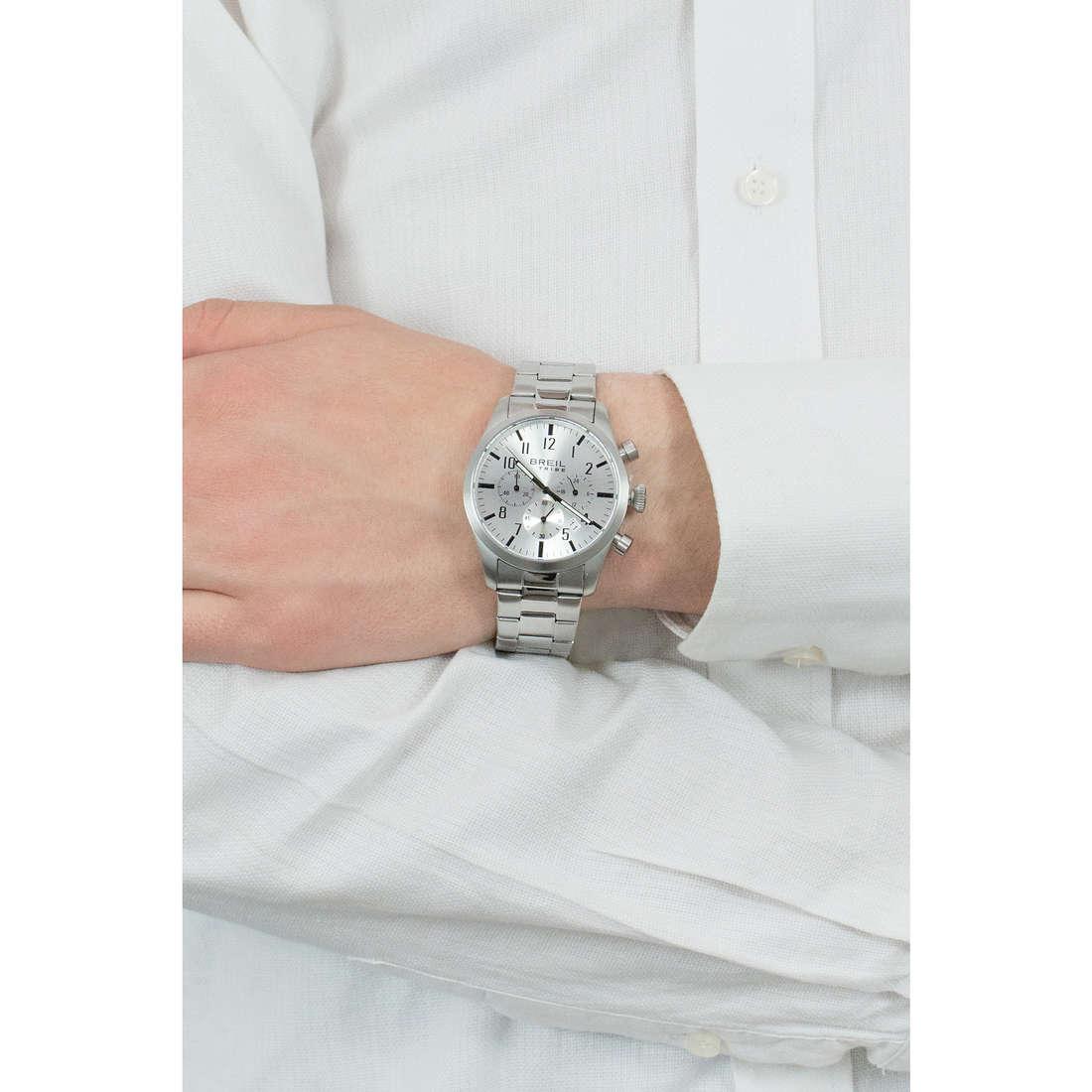 Breil cronografi Classic Elegance Extension uomo EW0225 indosso