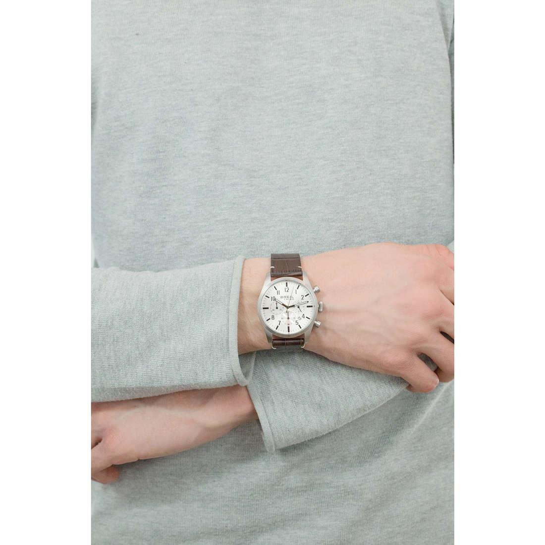 Breil cronografi Classic Elegance Extension uomo EW0228 indosso