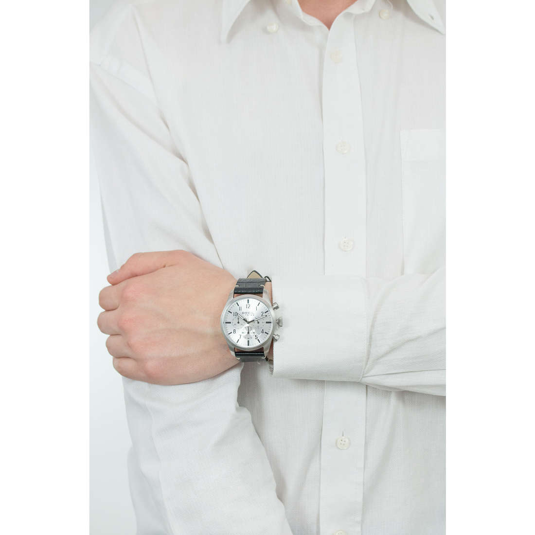 Breil cronografi Classic Elegance Extension uomo EW0230 indosso