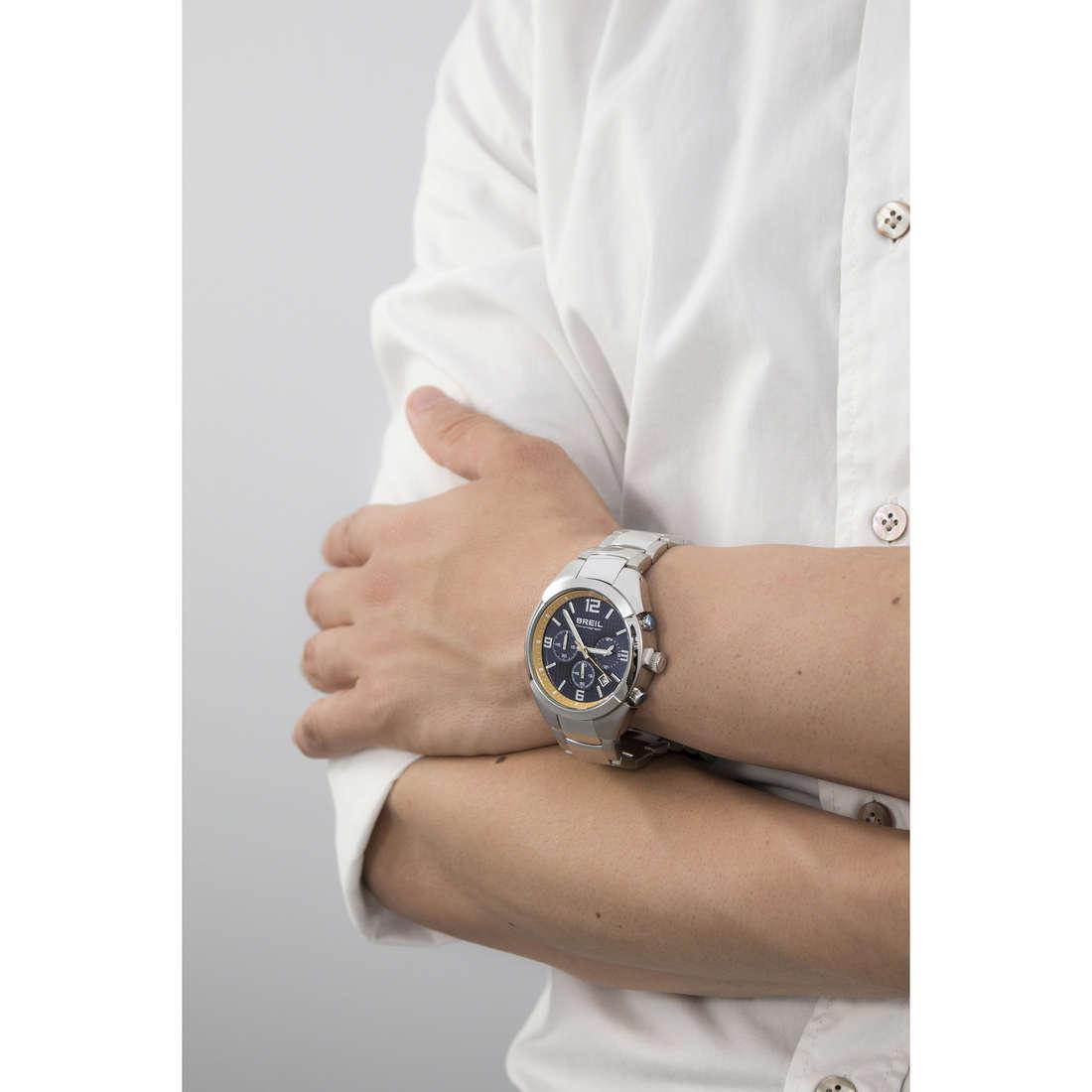 Breil cronografi Gap uomo TW1378 indosso