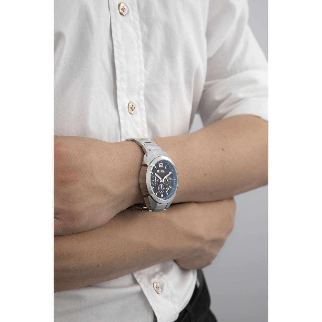 Breil cronografi Gap uomo TW1379 indosso