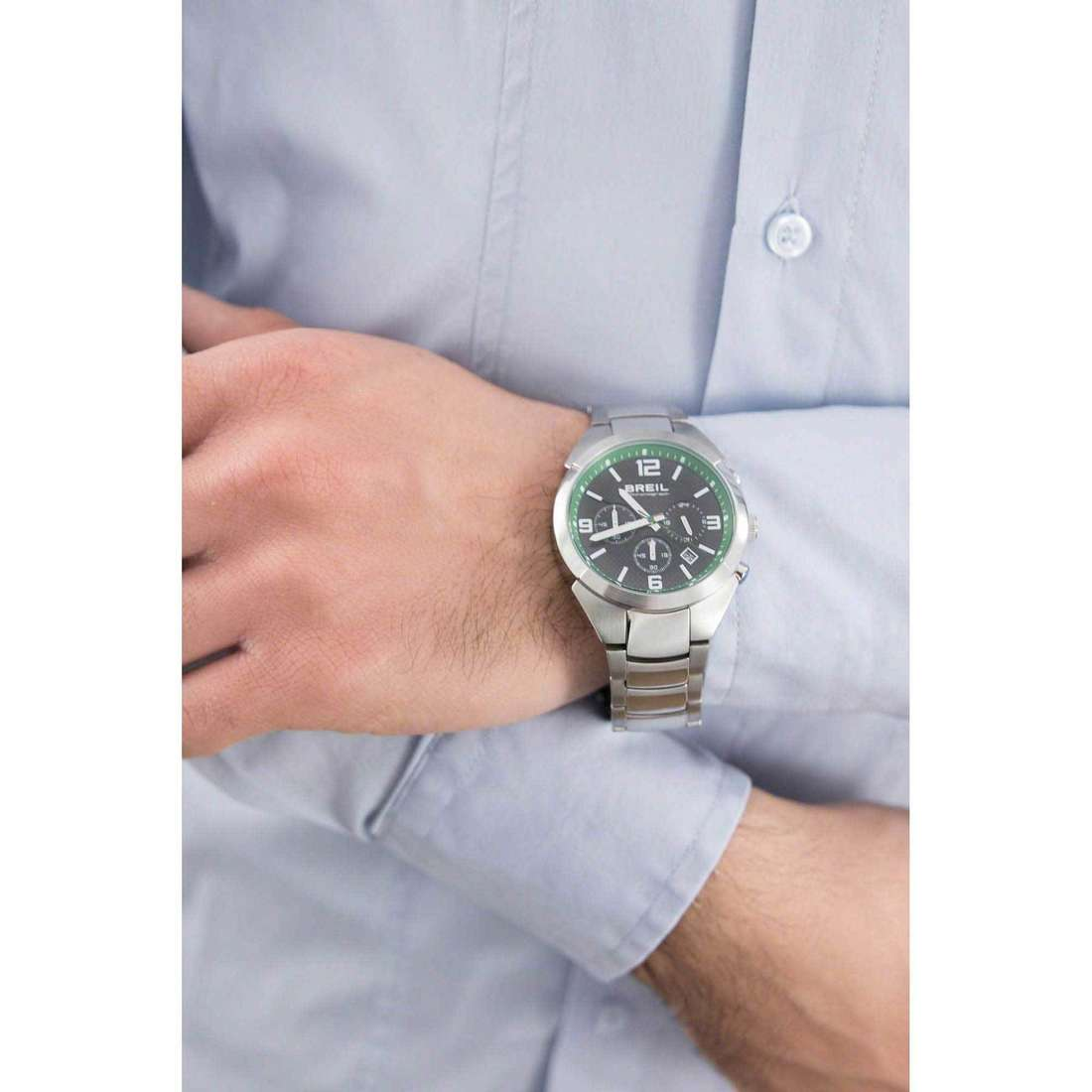 Breil cronografi Gap uomo TW1380 indosso