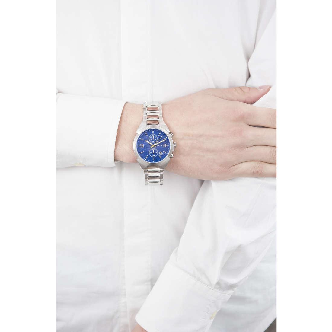 Breil cronografi Gap uomo TW1473 indosso
