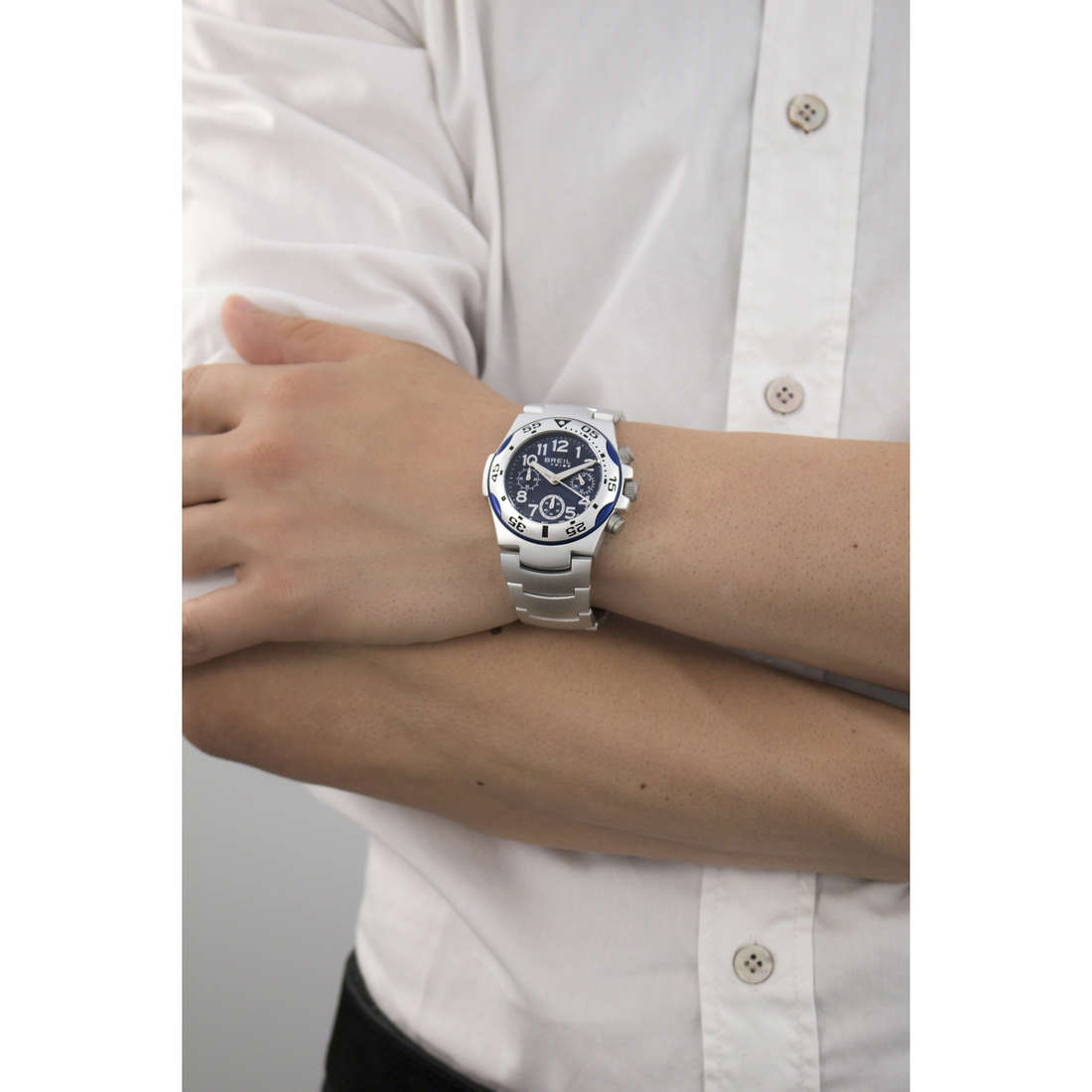 Breil cronografi Ice uomo EW0209 indosso
