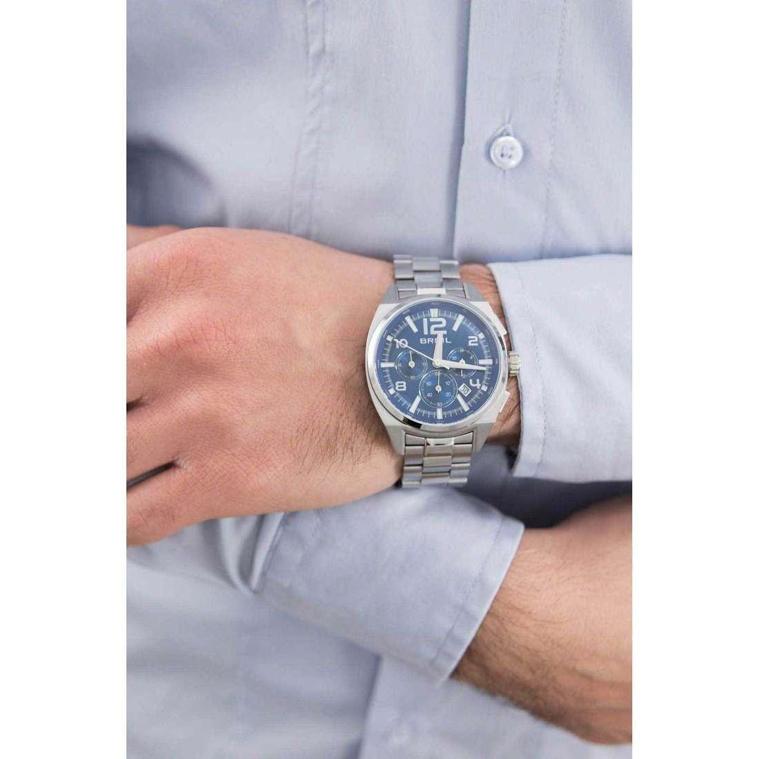 Breil cronografi Master uomo TW1404 indosso