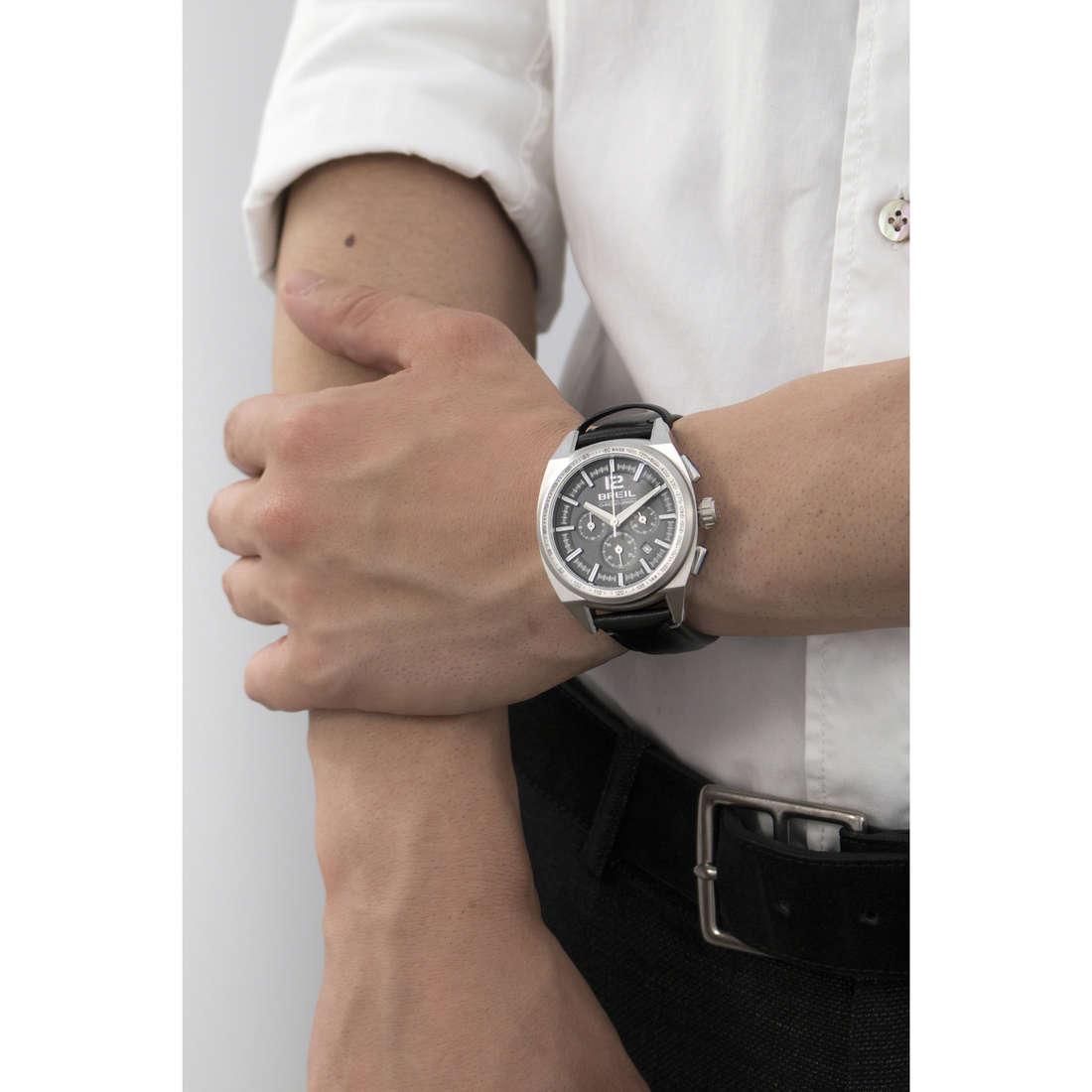 Breil cronografi Master uomo TW1459 indosso