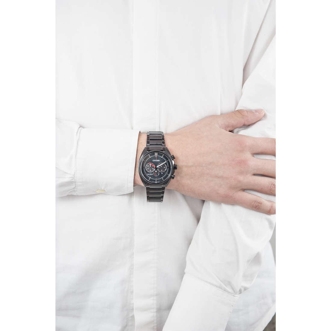 Citizen cronografi uomo CA4285-50H indosso