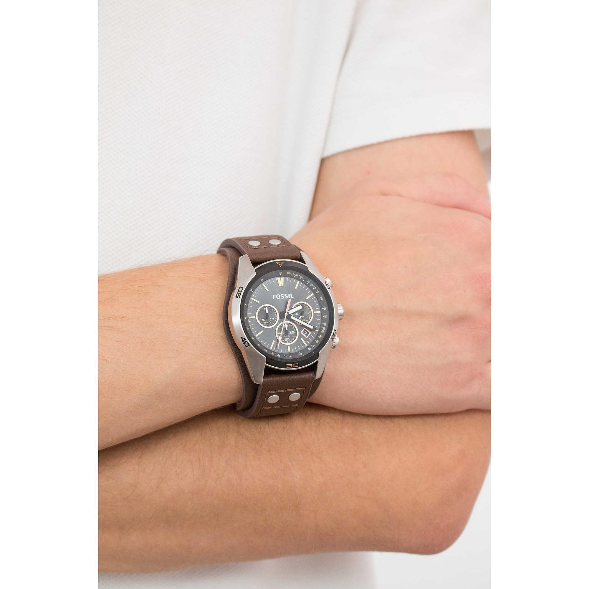 f948b2c2c28994 orologio cronografo uomo Fossil Coachman CH2891 cronografi Fossil
