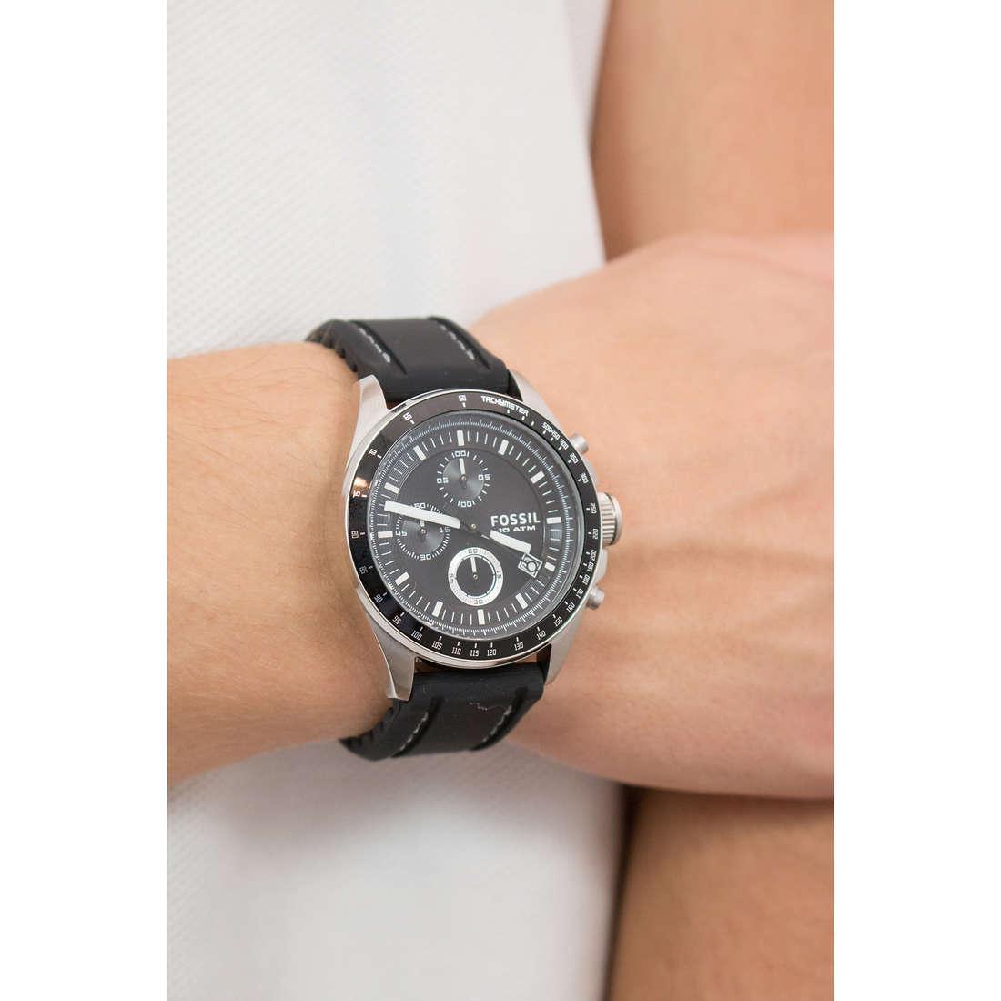 c3ef74fbac5fd1 orologio cronografo uomo Fossil Decker CH2573IE cronografi Fossil