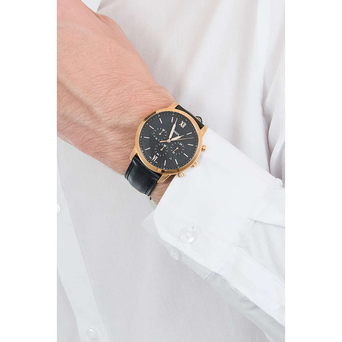 orologio cronografo uomo Fossil Neutra Chrono FS5381