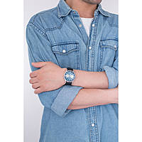 orologio cronografo uomo Henry London Knightsbridge HL41-CS-0039