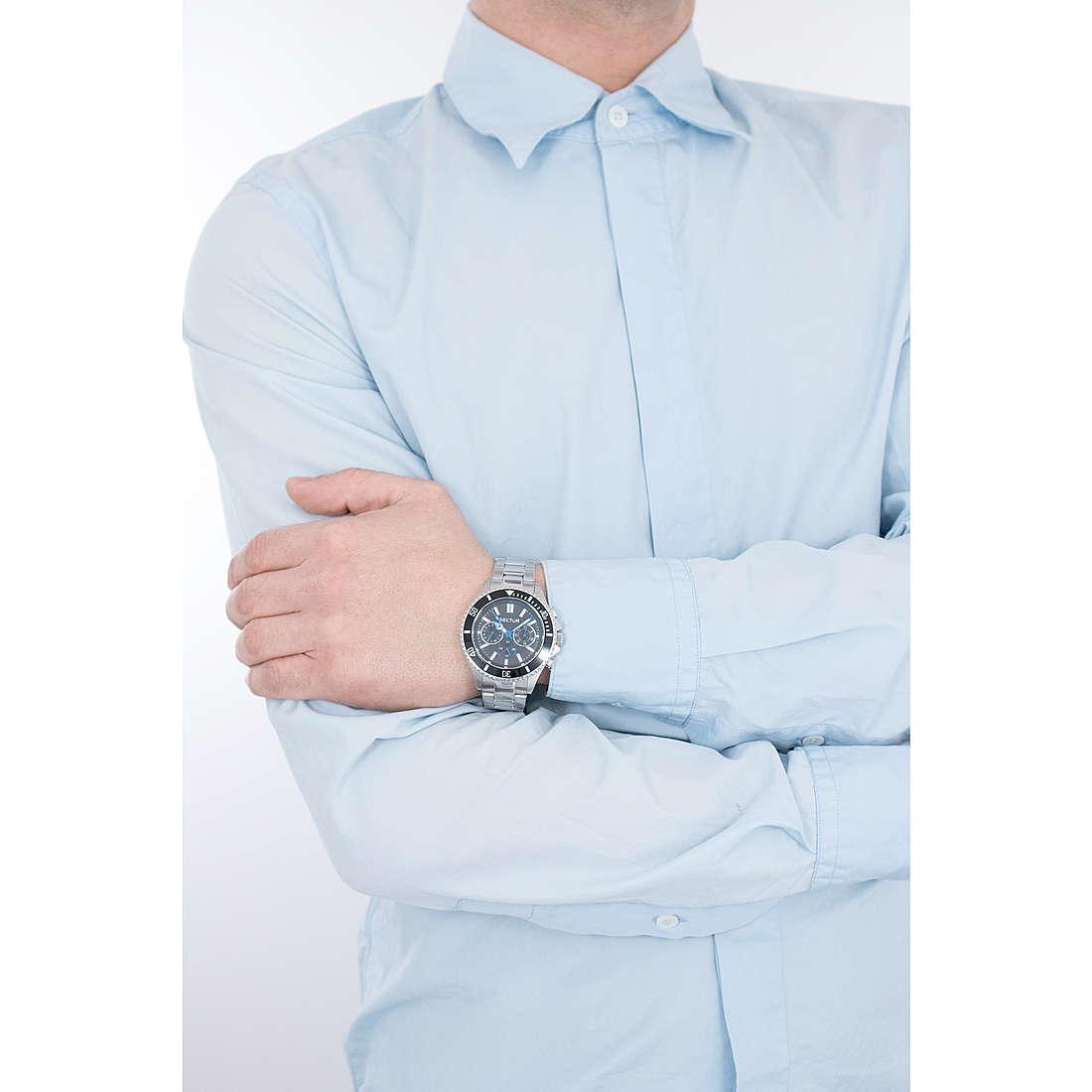 Sector cronografi 235 uomo R3253161007 indosso