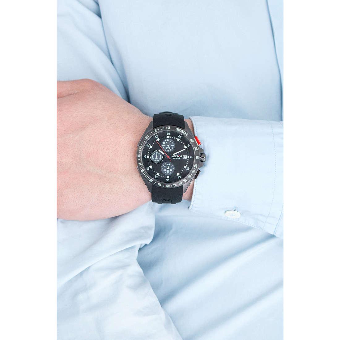 Sector cronografi uomo R3271687002 indosso