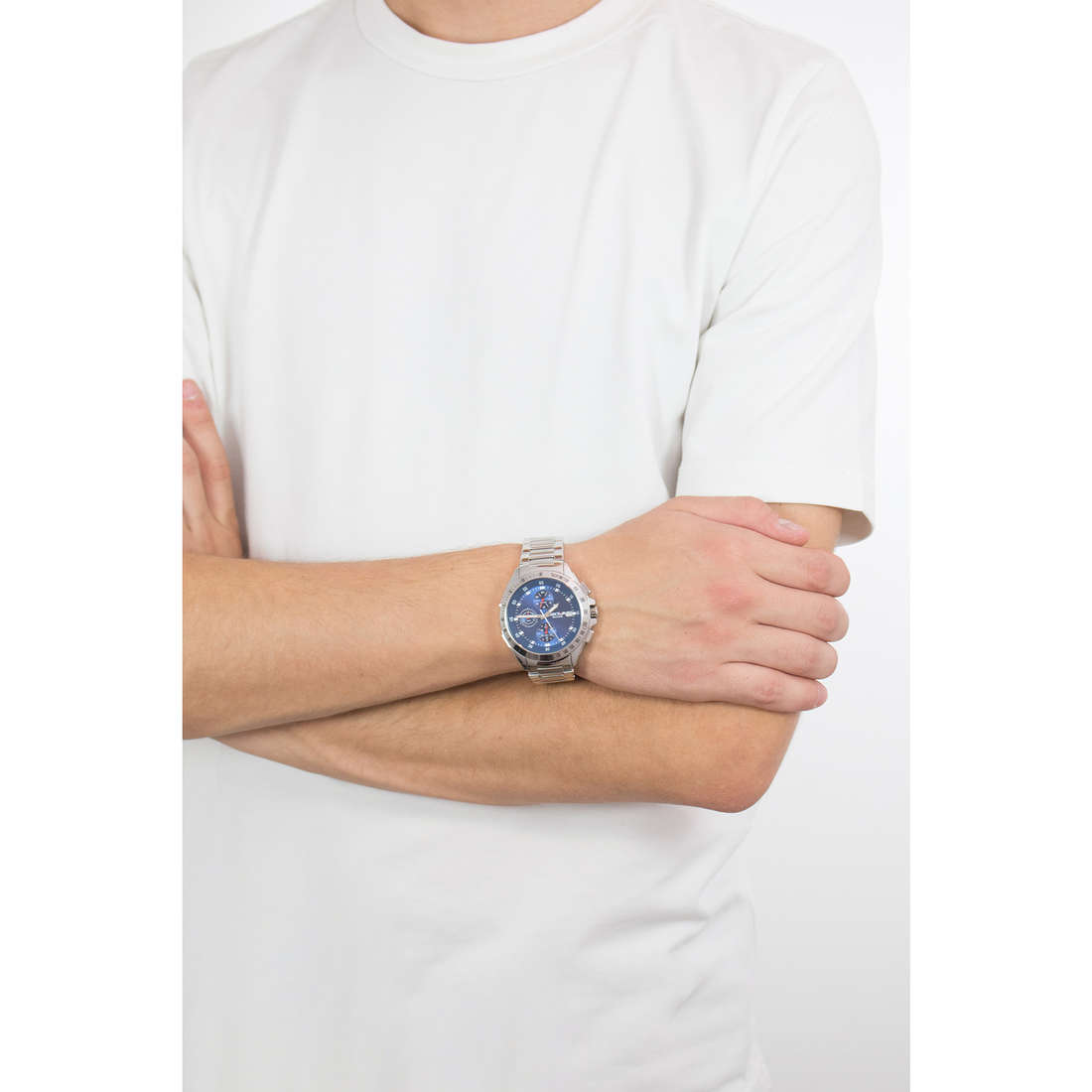 Sector cronografi uomo R3273687002 indosso