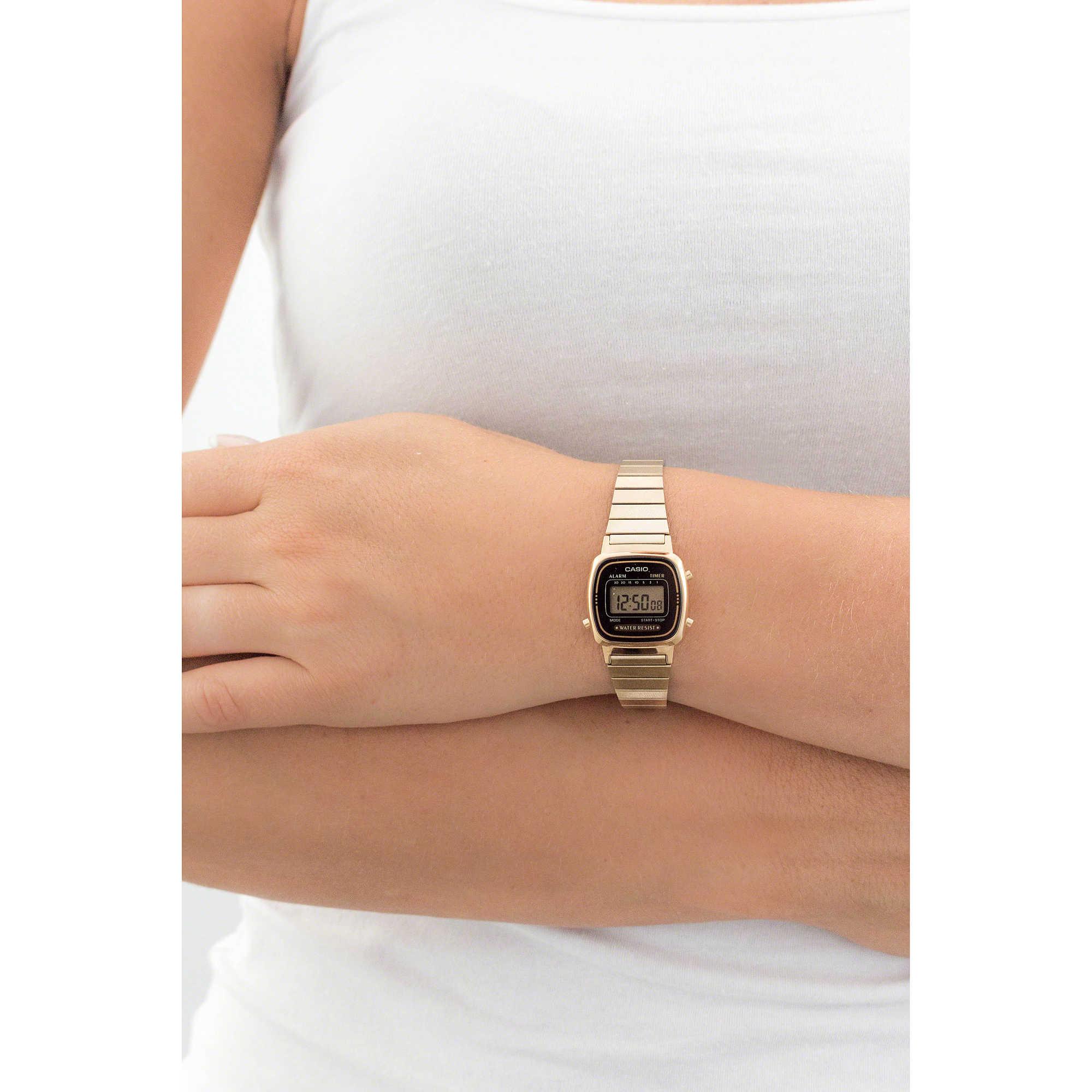 orologio digitale donna Casio CASIO COLLECTION LA670WEGA ...