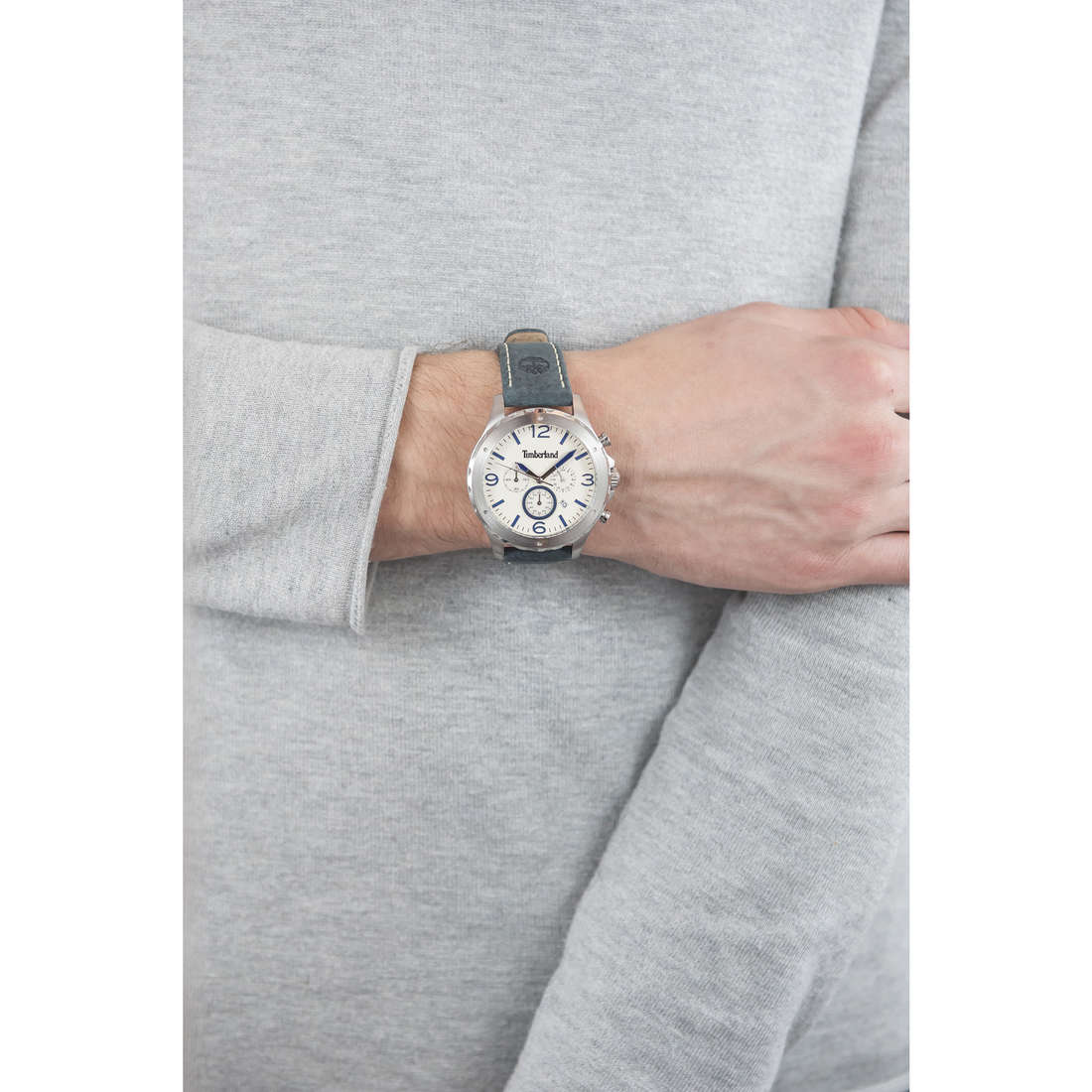 Timberland cronografi uomo TBL.14810JS/07 indosso