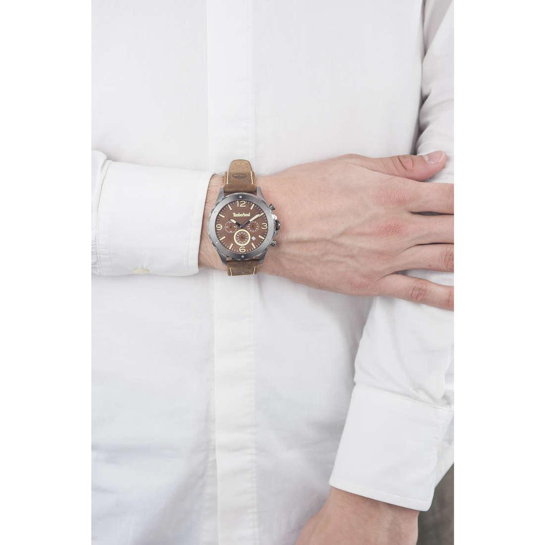 Timberland cronografi uomo TBL.14810JSU/12 indosso