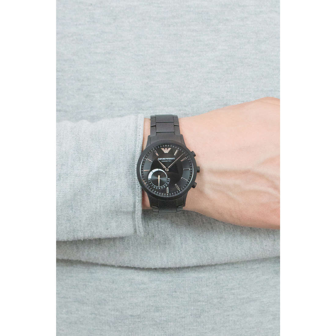Emporio Armani Smartwatches uomo ART3001 indosso