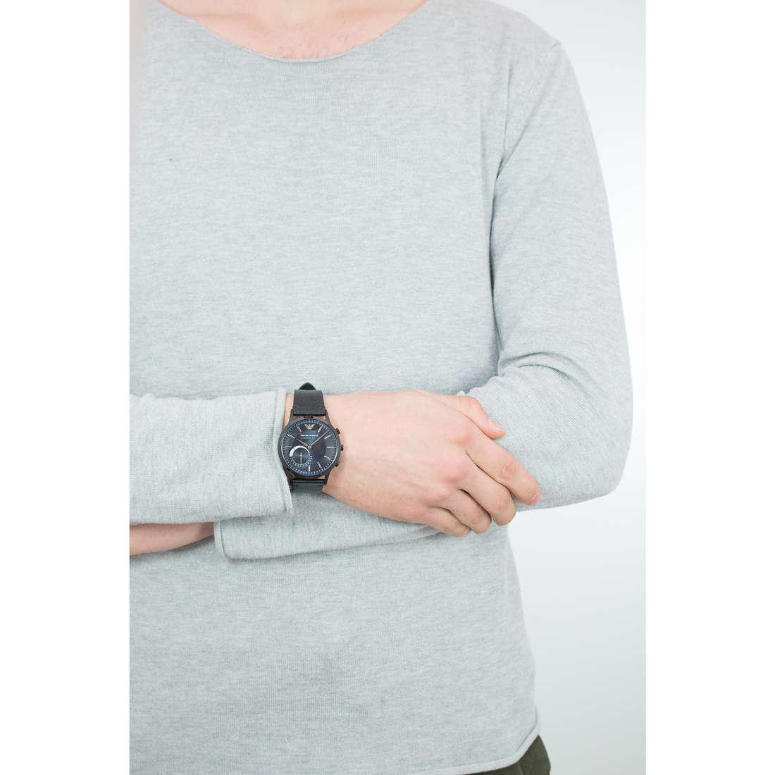 Emporio Armani Smartwatches uomo ART3004 indosso