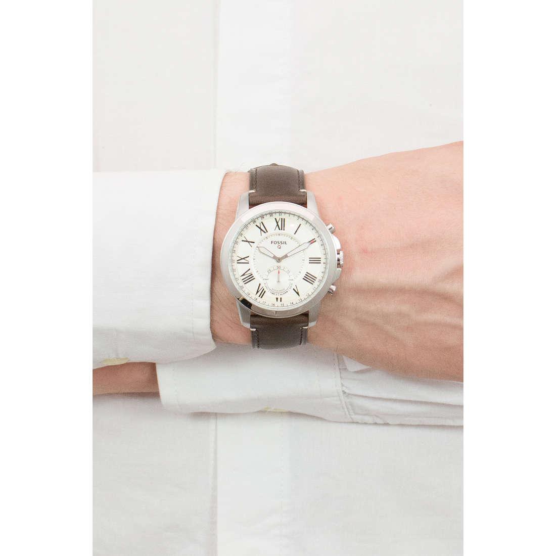 Fossil Smartwatches Q Grant 2.0 uomo FTW1118 indosso