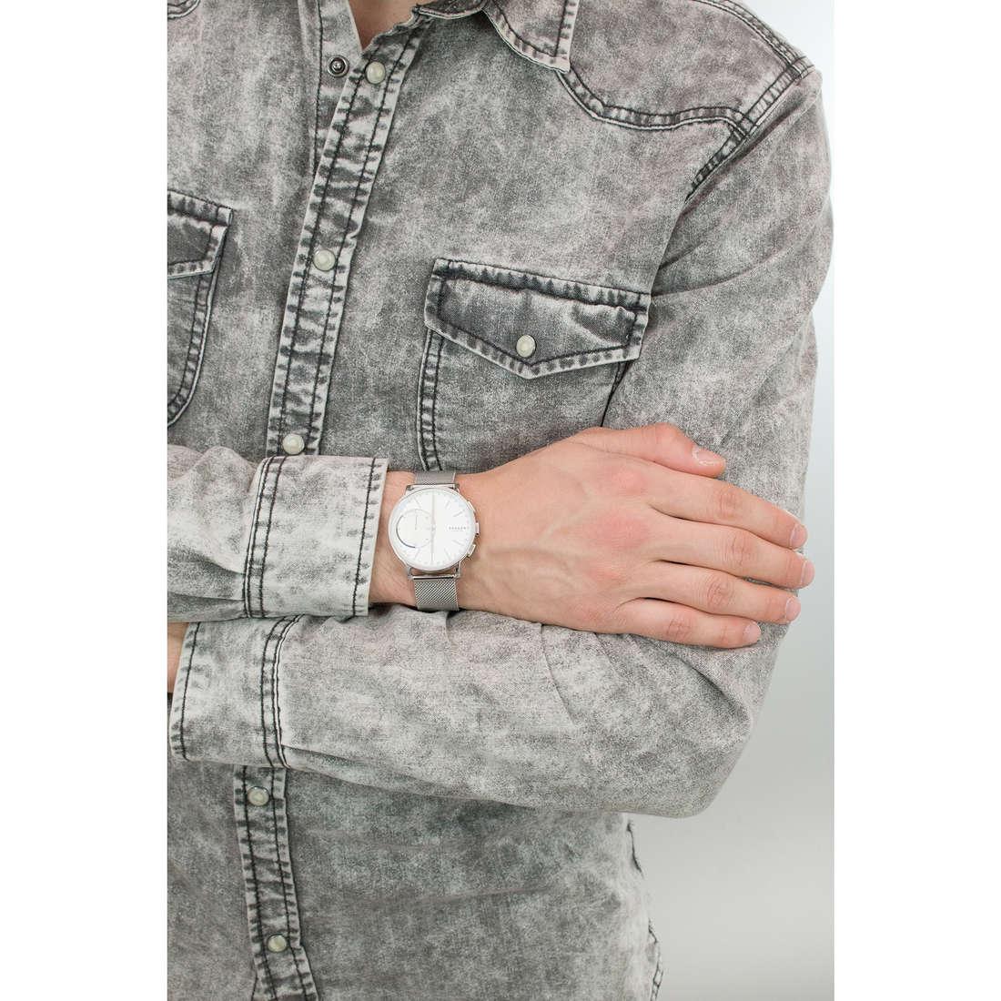 Skagen Smartwatches Hagen uomo SKT1100 indosso