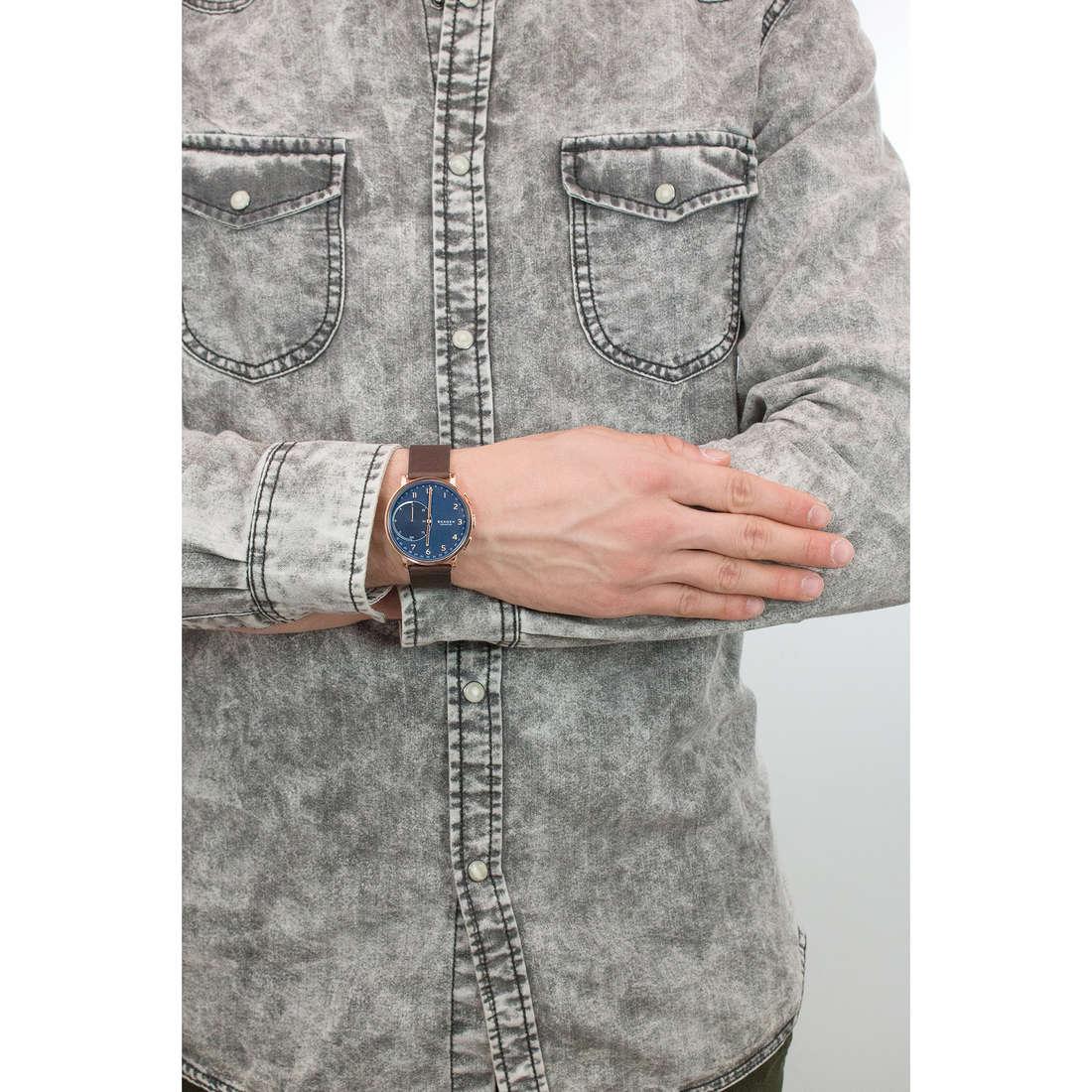 Skagen Smartwatches Hagen uomo SKT1103 indosso