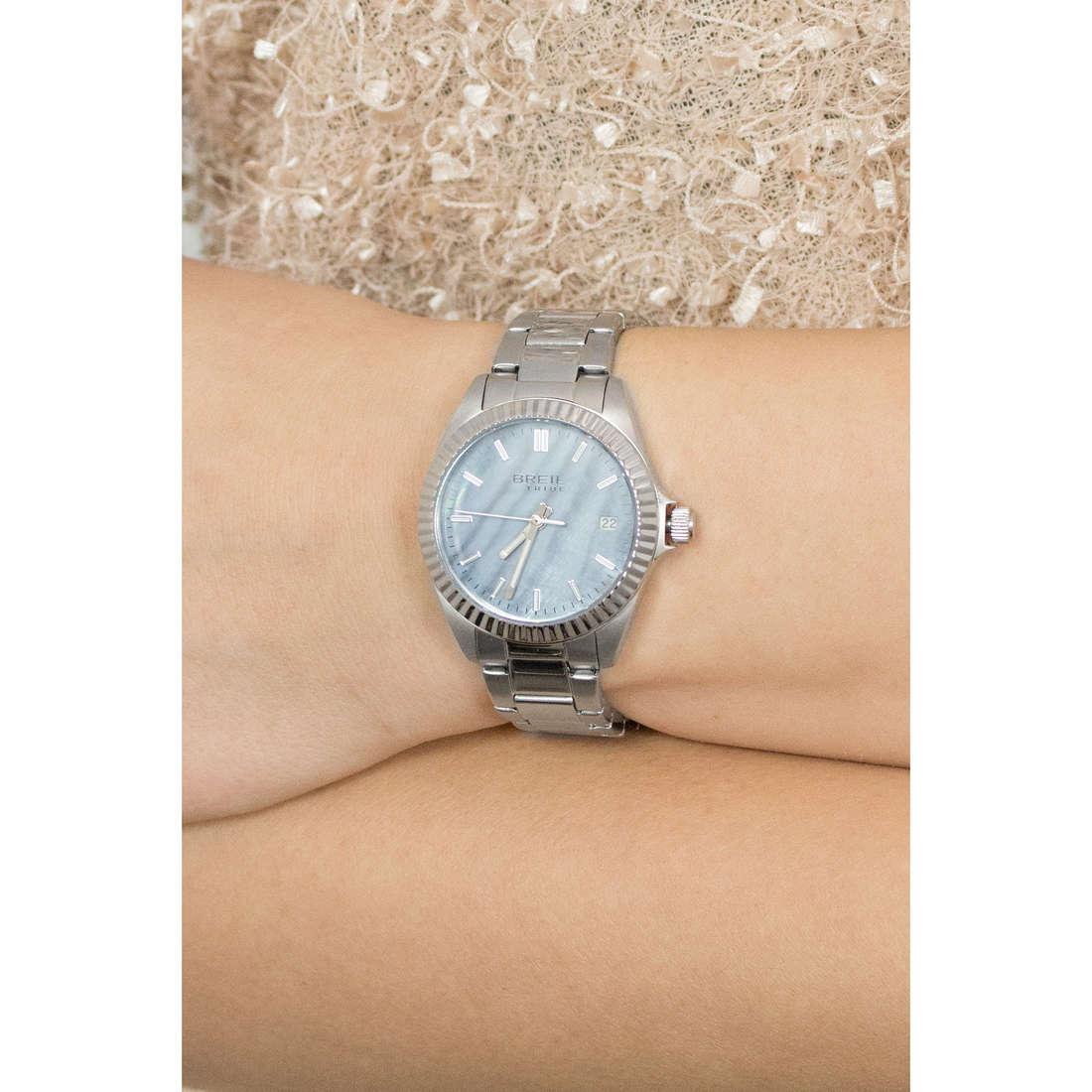 Breil solo tempo Classic Elegance Extension donna EW0238 indosso