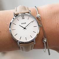 orologio solo tempo donna Cluse Minuit CL30044