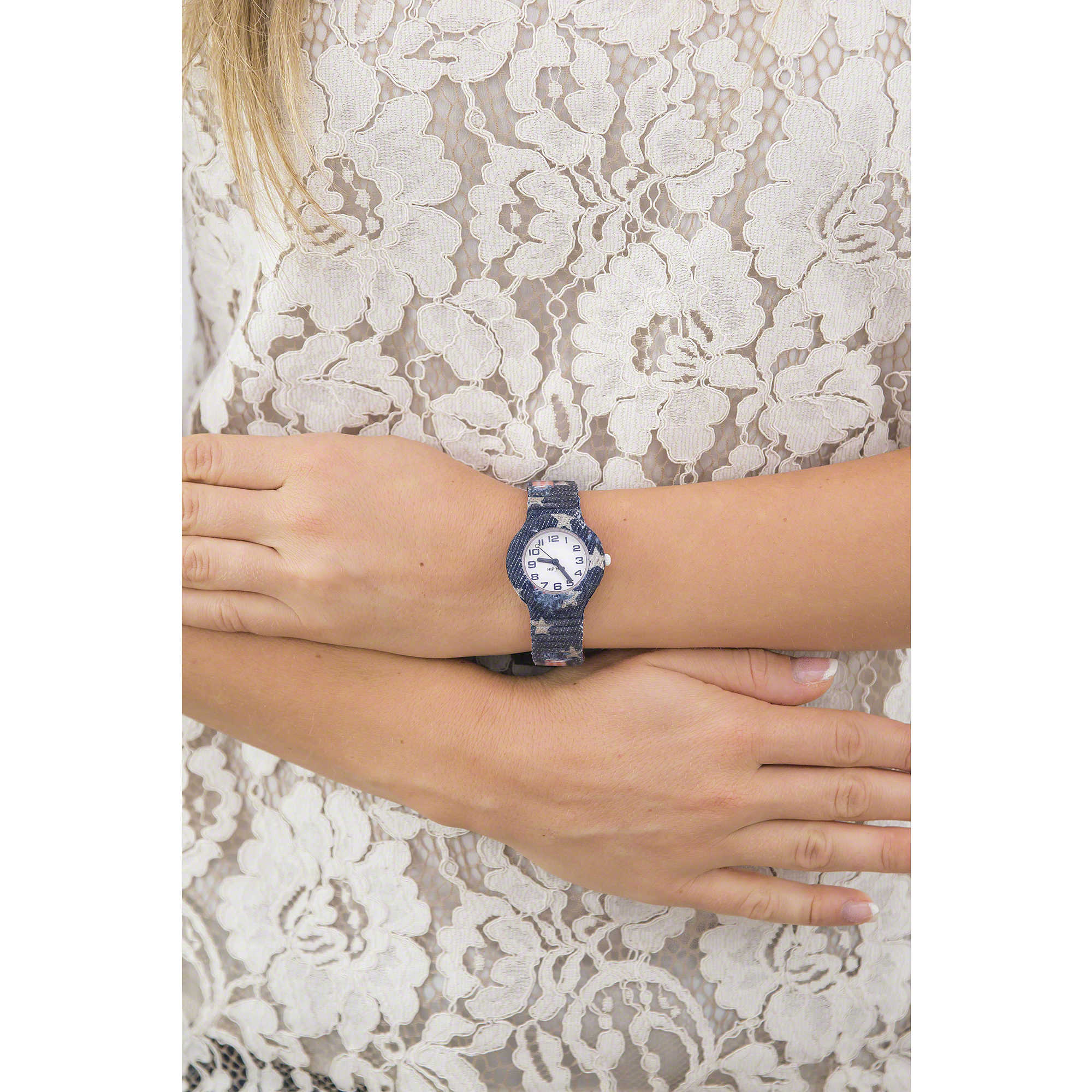 Solo 7ybfv6gy Jeans Donna Hwu0679 Hip Tempo Orologio Hop xCBWrode