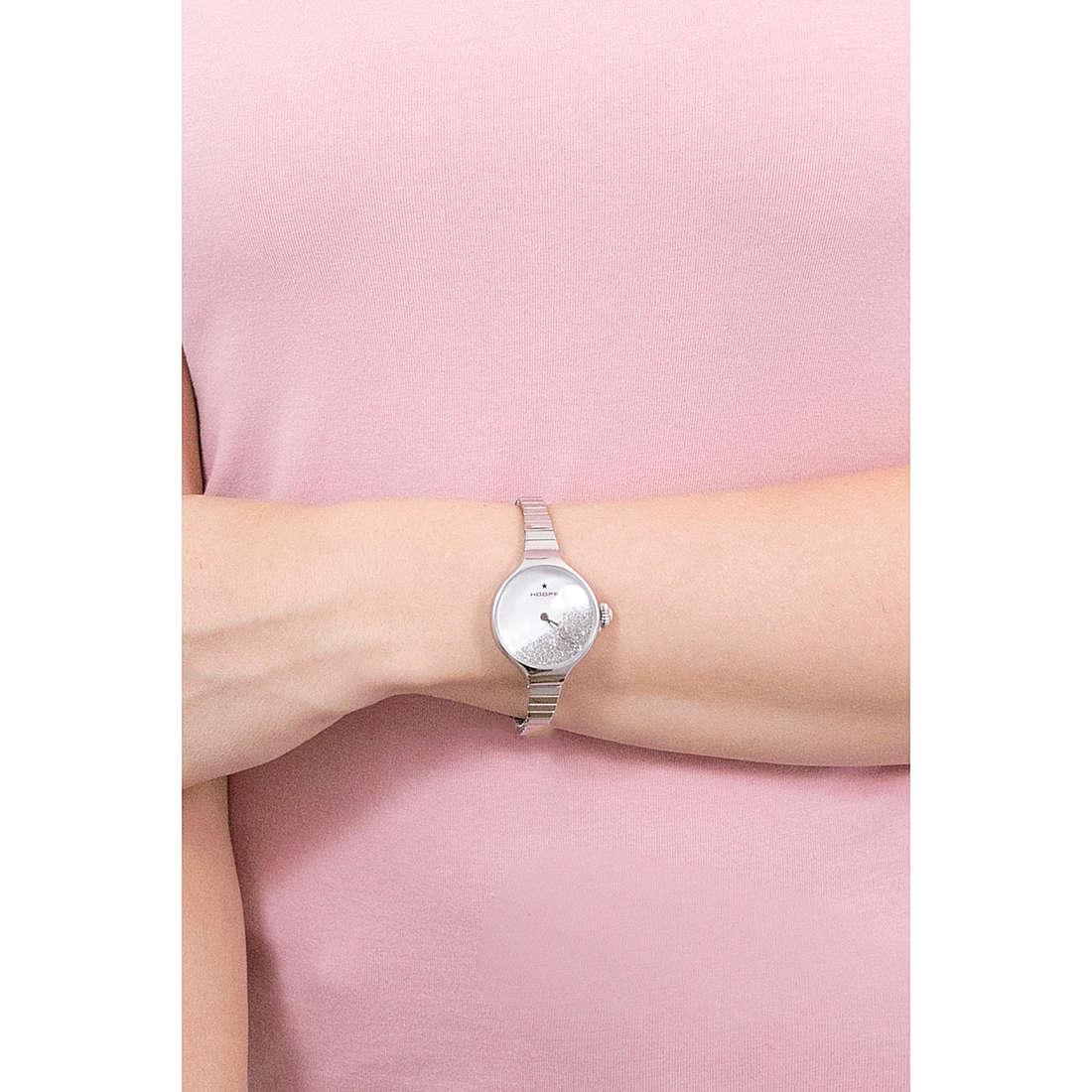 orologio solo tempo donna Hoops Nouveau Cherie 2612L S04