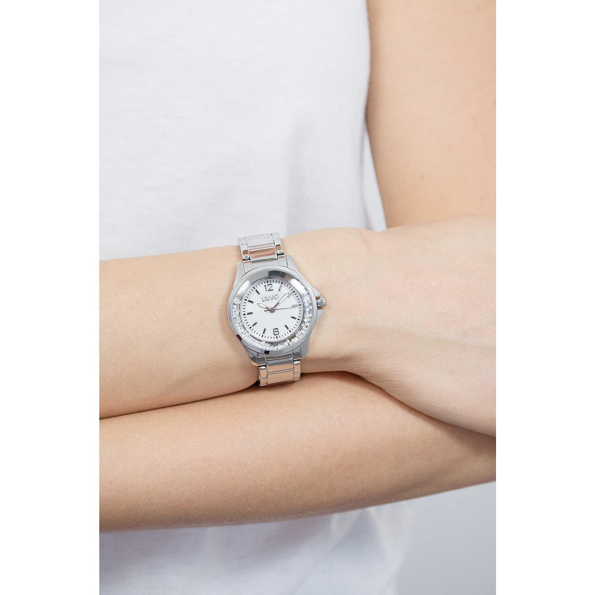 Liujo solo tempo Dancing Mini donna TLJ1213 indosso. zoom. vendita orologi  ... f7addd0adbb